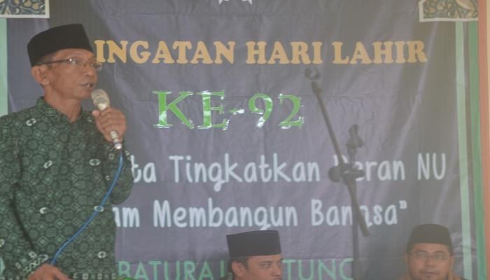 Peringatan Harlah NU ke-92 PMWC NU Tanggamus. Foto: Riski Firmanto/NusantaraNews