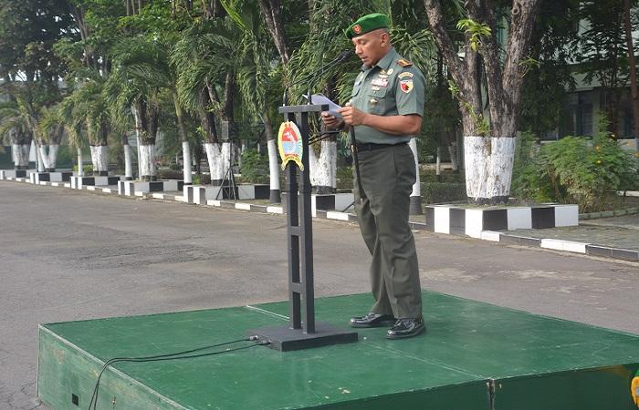 Danrem Bhaskara Jaya Prajurit TNI dan PNS Harus Profesional 2