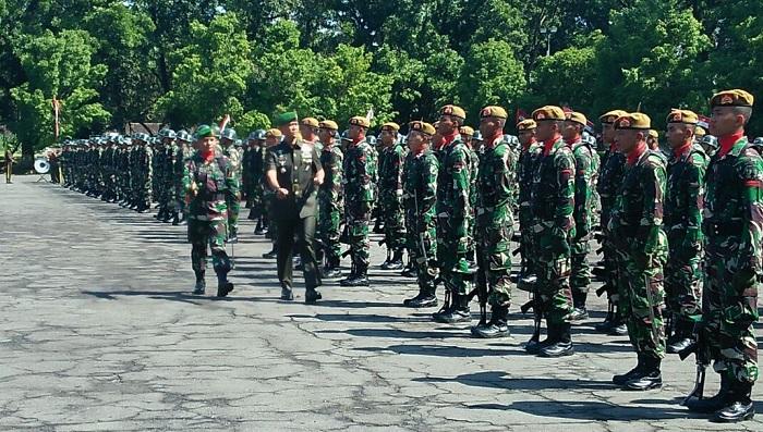 Diktukba TNI-AD 2018 Mulai Berjalan. Foto: Dok. Singgih Pambudi/ NusantaraNews