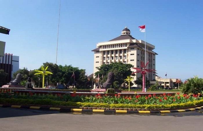 Kantor pemerintah daerah (Pemkab) Ponorogo, Jawa Timur. Foto: Muh Nurcholis/NusantaraNews