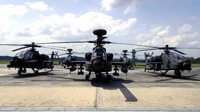 Helikopter Apache Siap lengkapi Alutsista TNI. Foto: Via YouTube