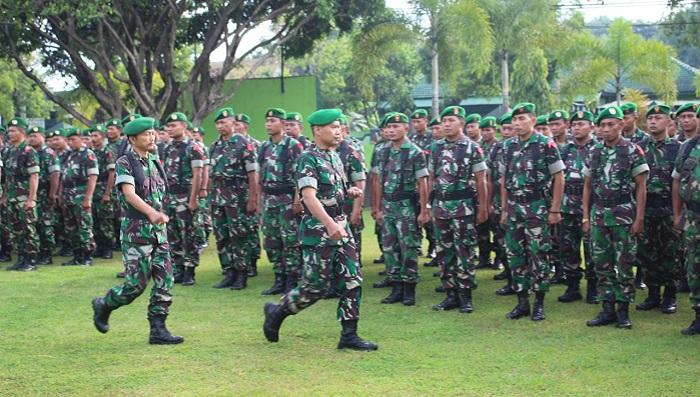 Dandim Ponorogo Tegaskan TNI Harus Netral Dalam Pesta Demokrasi. Foto Muh. Nurcholis/ NusantaraNews