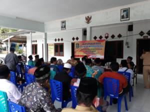 Rencana Kerja Pembangunan (RKP), Desa Pragaan Daya Kecamatan Pragaan. Foto: Mahdi Alhabib/NusantaraNews