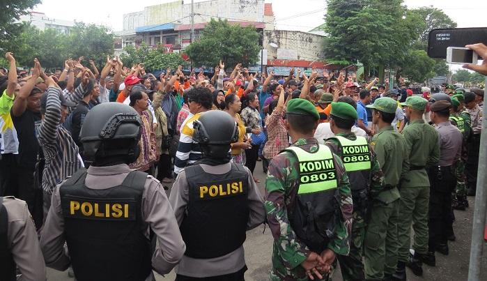 Gladi Lapang: Sinergi Kodim, Polres dan pemerintah Kota Madiun Dalam Pengamanan Kota. Foto: Dok. MC0803/ NusantaraNews
