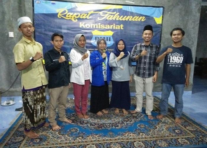 Siti Makrifah terpilihjadi Ketua PMII Komisariat Universitas Lampung. Foto: Istimewa