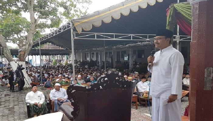 Calon gubernur Jawa Timur Saifullah Yusuf (Gus Ipul). Foto: Yushie/Setya/NusantaraNews