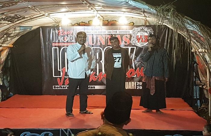 Calon Gubernur Jawa Timur Saifullah Yusuf (Gus Ipul) berkomitmen melestarikan kesenian ludruk dan budaya lokal Jawa Timur. Foto: setya/NusantaraNews