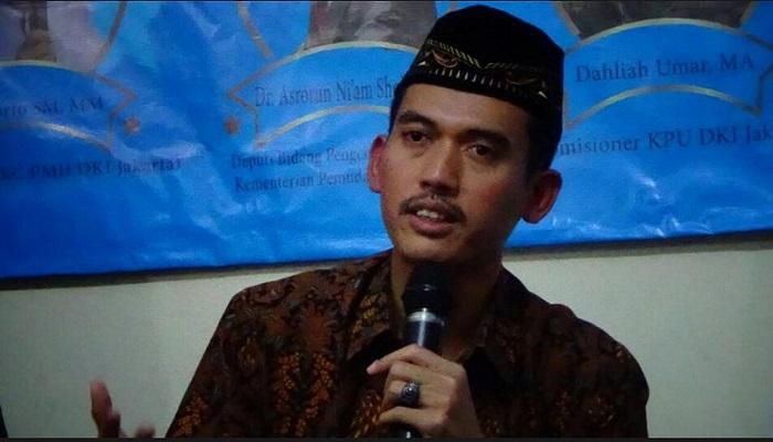Katib Syuriah PBNU Asrorun Na'im Sholeh. Foto: Robiatul Adawiyah/NusantaraNews