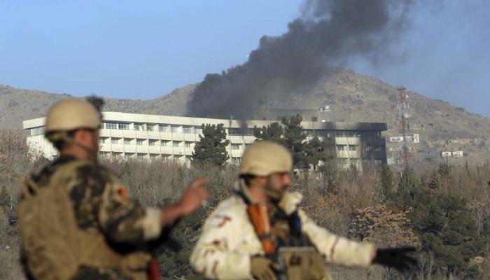 Hotel Intercontinental di Kabul (Afghanistan).