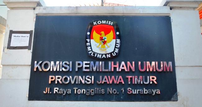 Kantor KPU Jatim (Foto Istimewa)