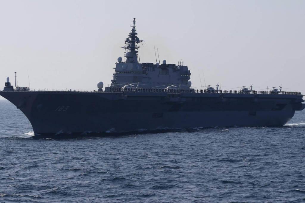 Kapal Induk Angkatan Laut Jepang, Izumo. Foto: REUTERS