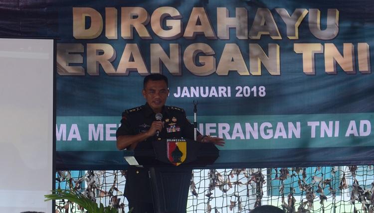 Kepala Penerangan Kodam (Kapendam) Brawijaya, Letkol Inf Singgih Pambudi Arinto (Foto Istimewa/Nusantaranews)