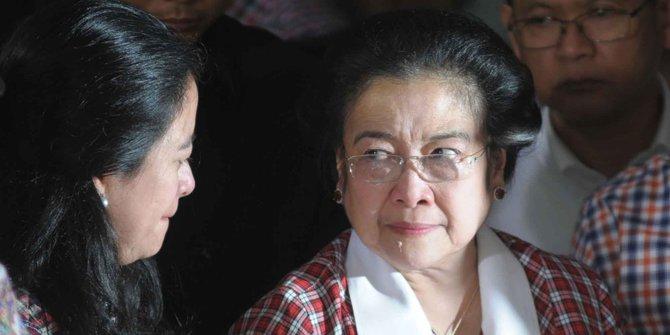Ketua Umum PDIP Megawati Soekarnoputri dan Menko PMK Puan Maharani (Foto Dok. Merdeka)