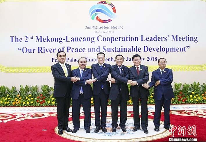 Para Pemimpin Negara Lancang-Mekong/Foto: chinadaily