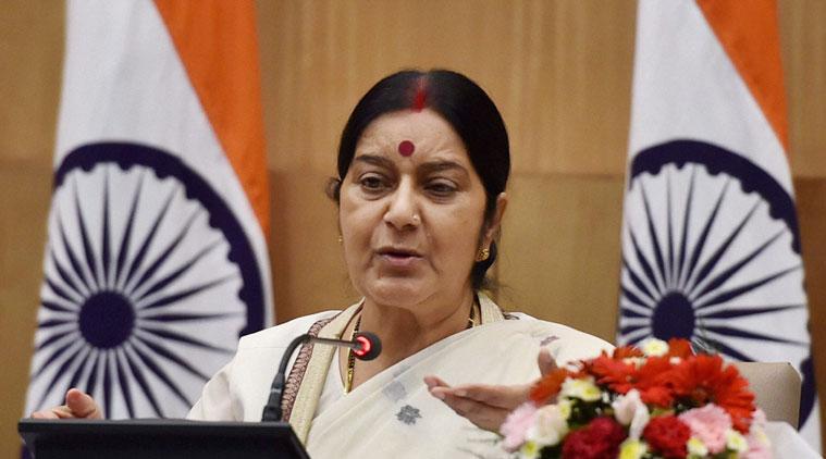Melu India Sushma Swaraj (Foto Istimewa)