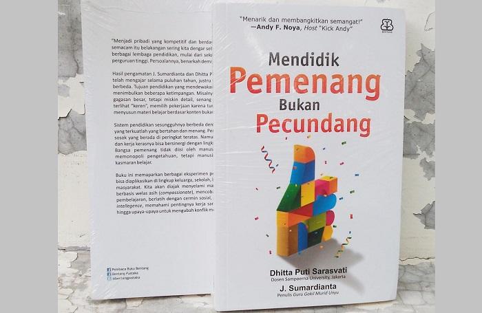Mendidik Pemenang Bukan Pecundang (Cover). Foto: Dok. Tokoperedia