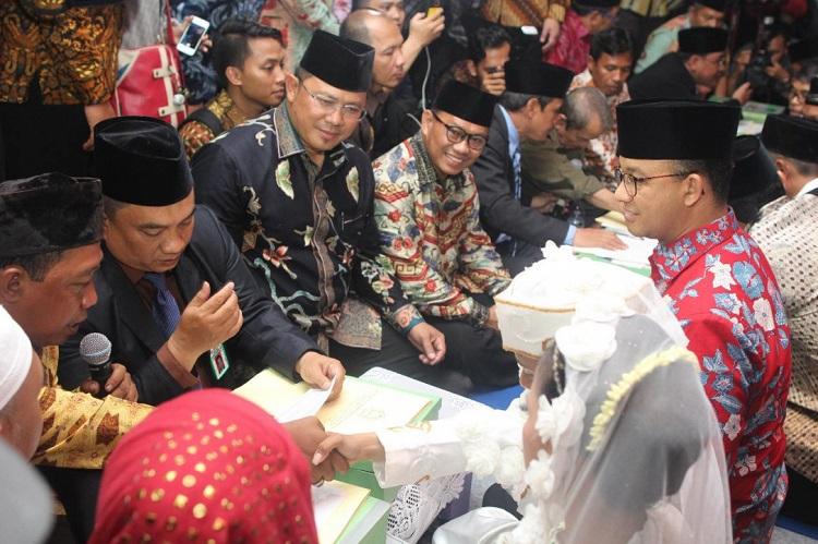 Nikah Massal DKI Jakarta (Foto Dok. Kemenag)