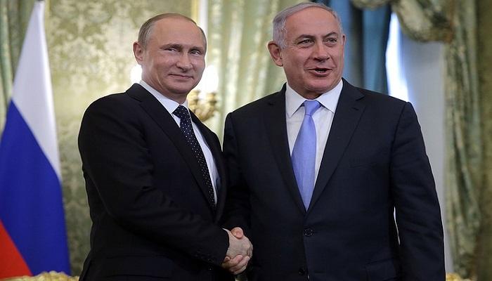 Perdana Menteri Israel dan Presiden Rusia