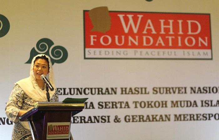 Zannuba Ariffah Chafsoh Rahman Wahid (Yenny Wahid). Foto: Dok. Wahid Foundation