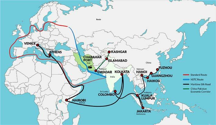 Posisi Strategis Port Chabahar Iran/Image cbnme.com