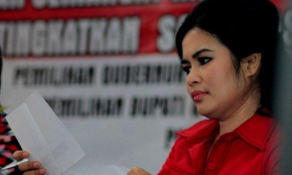 Puti Guntur Soekarno Putri resmi ditunjuk PDI Perjuangan mendampingi Gus Ipul di Pilgub Jawa Timur. Foto: Istimewa/Net