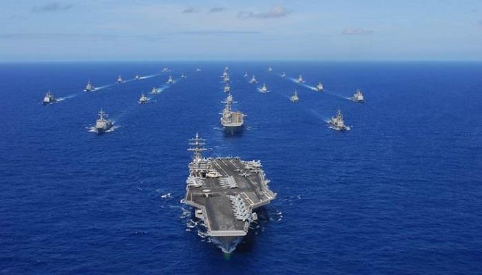 Rim of the Pacific Exercise's (RIMPAC) 2012 menyetujui perdamaian di Samudra Pasifik, Atlantik, Hindia dan Laut Mediterania. Foto: Mass Communication Specialist 3rd Class Dylan McCord/Released