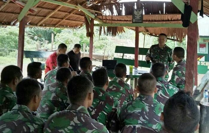 Sidak Pos Penjagaan Berbatasan oleh Raider 500/Sikatan (Foto Istimewa/Nusantaranews)