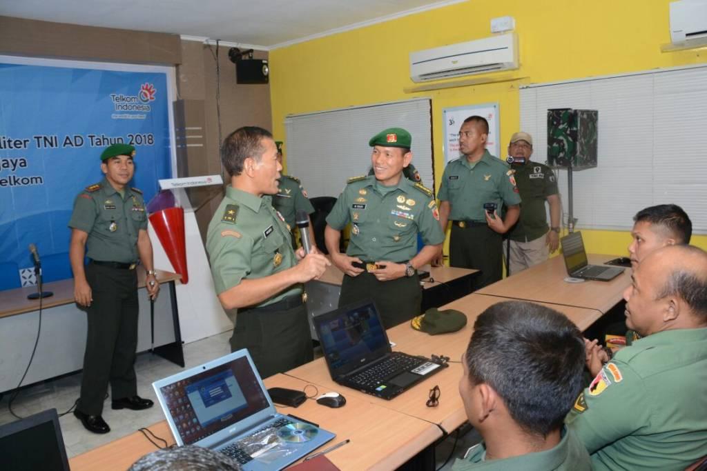 Sosialiasasi E-Militer oleh Kepala Staf Kodam (Kasdam) V/Brawijaya, Brigjen TNI Widodo Iryansyah. Foto: Dok. Kodam/Pendam