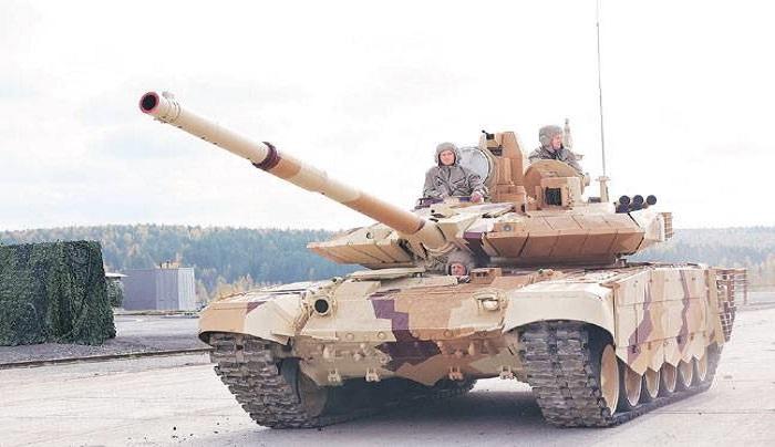 Tank tempur milik Angakatan Darat India, T-90S. Foto: India Today