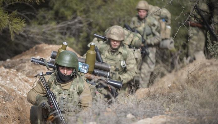Turki meluncurkan operasi militer Afrin pada hari Sabtu, 20 Januari 2018. Foto: Dok. Anadolu