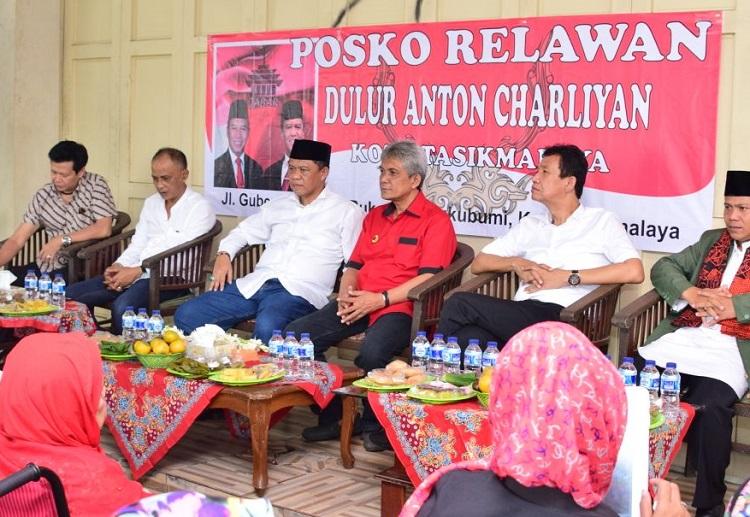 Peresmian Posko Dulur Anton Charliyan (Foto Istimewa/Nusantaranews)
