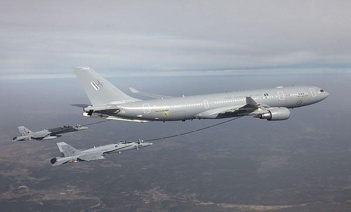 Pesawat tanker udara Airbus A330 MRTT. Foto: Dok. Airbus