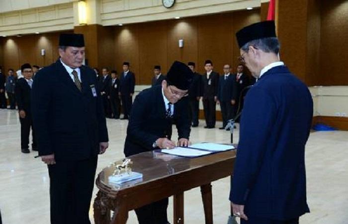 Sebanyak 30 pegawai baru BPK RI dilantik. Foto: Dok. Istimewa/NusantaraNews