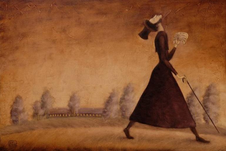 Poet Pushkin. Painting by Z E D. Foto: saatchiart.com