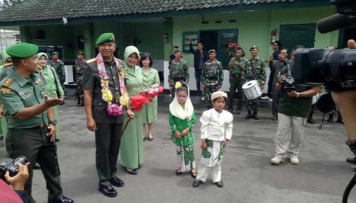 Pangdam V Brawijaya Mayjen TNI Arif Rahman berkunjung ke ke Kodim Jember. (Foto: Istimewa)