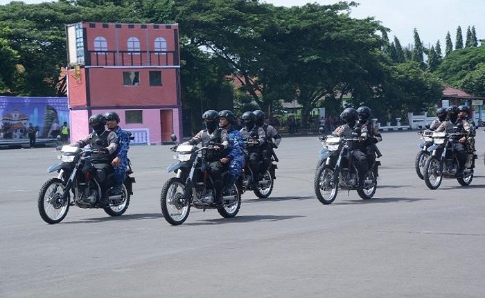 Pasukan bermotor TNI-Polri. (Foto: Istimewa)