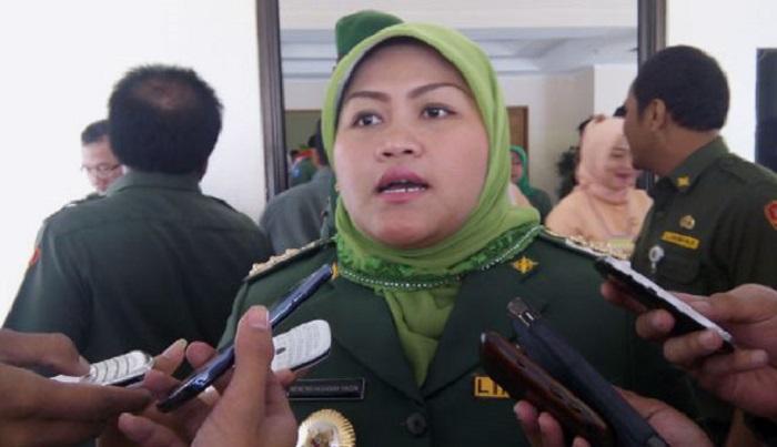 Bupati Neneng Hasanah. Foto: thejak.co