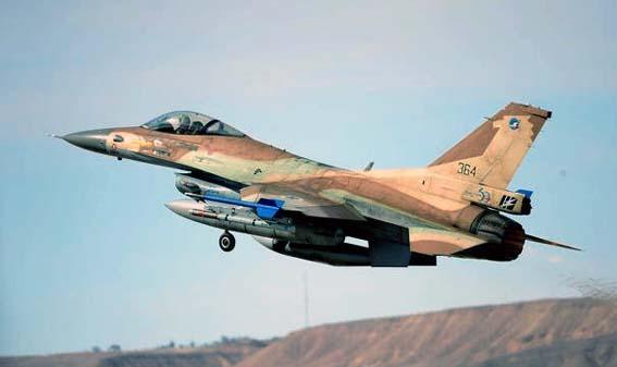 F-16 Israel/Foto Military.Com