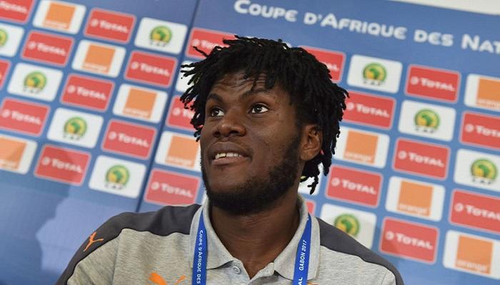 Pesepakbola asal Pantai Gading dan gelandang milik Atalanta yang kini bermain untuk AC Milan, Franck Kessie. (Foto: Issouf Sanogo/AFP/Getty Images)