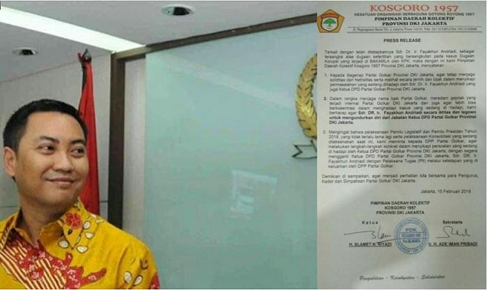 Kader Senior Partai Golkar Henry M Kailola. Foto: IDG/ NUSANTARANEWS.CO
