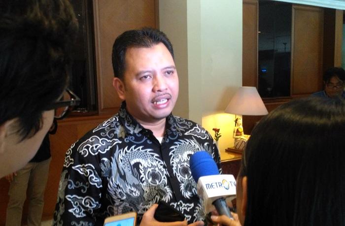 Direktur Poltracking Indonesia, Hanta Yuda AR (Foto Gendon/Nusantaranews.co)