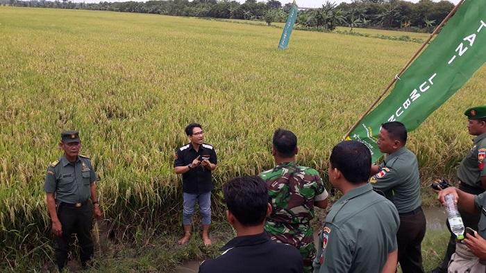 Komando Distrik Militer (Kodim) Wilayah Demak, Jawa Tengah bersama Lumbung Banyu Bumi melaksanakan Pendidikan dan Pelatihan Tata Kelola Budidaya Pertanian Demak. Foto: MediaCenter/PDA/ NusantaraNews