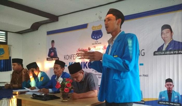 Ketua Pengurus Kordinator Cabang Pergerakan Mahasiswa Islam Indonesia (PKC PMII) Aceh, Ruslan. Foto Istimewa/ NusantaraNews