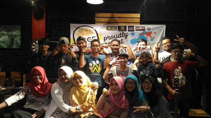 Foto Bersama pegiat Bumiayu Creative City Forum (BCCF). Foto: BCCF/ NusantaraNews
