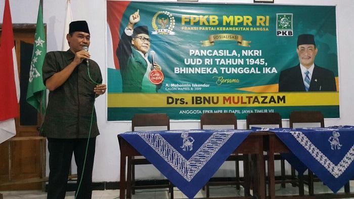 Anggota MPR RI, Ibnu Multazam. (Foto: NUSANTARANEWS.CO/Muh Nurcholis)
