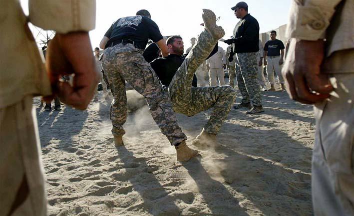 Ilustrasi Latihan Pasukan Irak di Yordania/Foto via sputnik