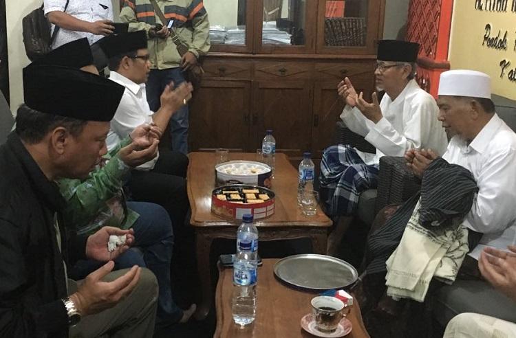KH Dimyatoi Rois Jadi Ketua Dewan Syuro PKB (Foto Syaifuddin/Nusantaranews.co)