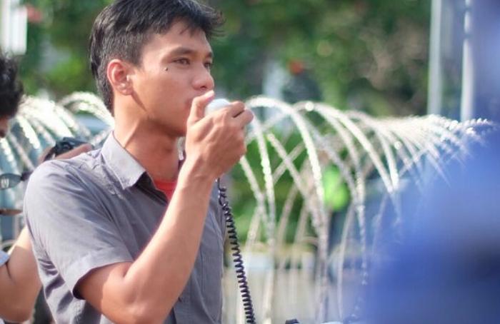 Ketua Umum Liga Mahasiswa Nasional untuk Demokrasi (LMND), Raden Deden Fajarullah (Foto: Istimewa/Nusantaranews.co)