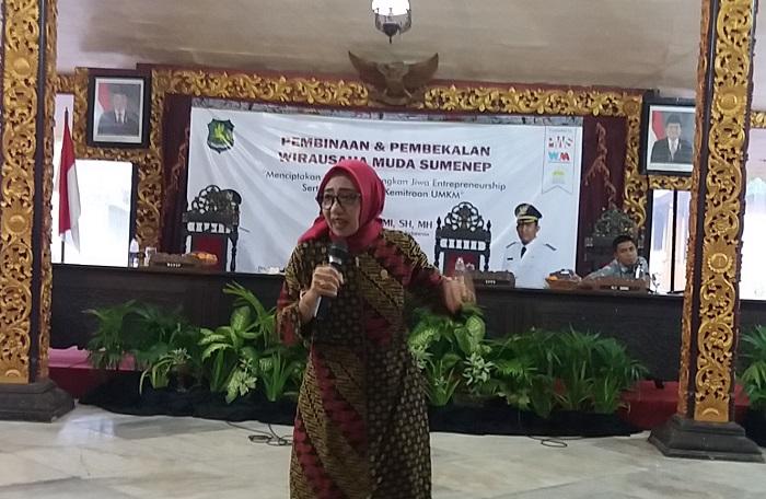Komisioner KPPU RI Sukarmi (Foto Nusantaranews.co/Mahdi)
