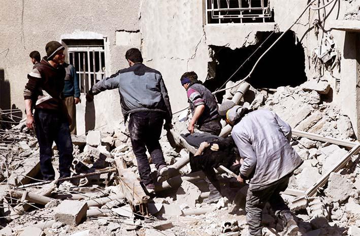 Korban Sipil di Suriah